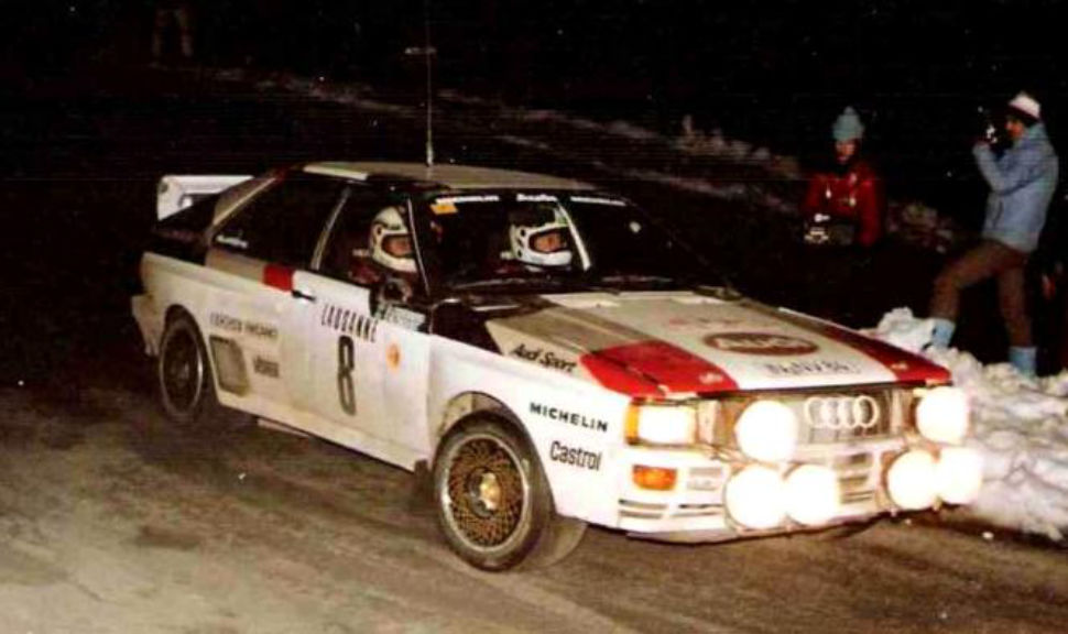 January 1983, Stig Blomqvist came 3rd in the Monte Carlo Rally.